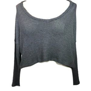 🌺3/$15🌺NWT Thin Charcoal Knit Stretch Top.
